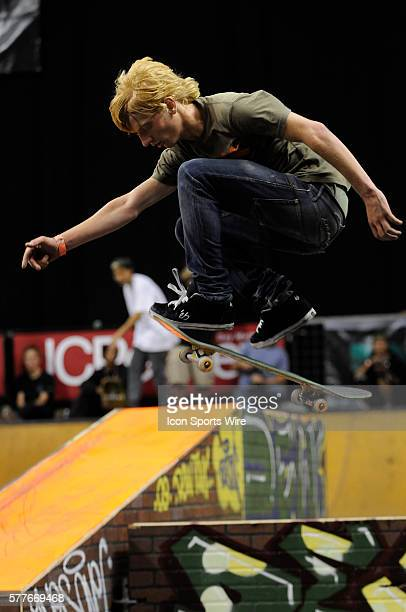 Woody Hoogendijk during the prelims of the Skate Open ISF Skateboarding World Championships Boston Ma