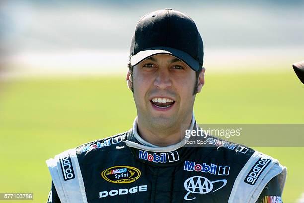 Cup driver Sam Hornish Jr prior to the NASCAR Sprint Cup Series LifeLockCOM