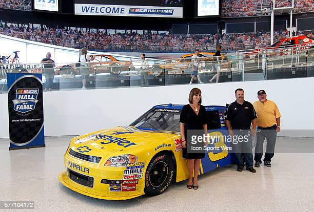 LR Kelley Earnhardt Tony Eury Jr Tony Eury Sr The NASCAR Hall of Fame an expansive new interactive entertainment attraction in Charlotte NC now is...