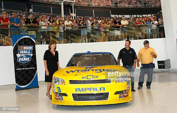 LR Kelley Earnhardt Tony Eury Jr Tony Eury The NASCAR Hall of Fame an expansive new interactive entertainment attraction in Charlotte NC now is the...