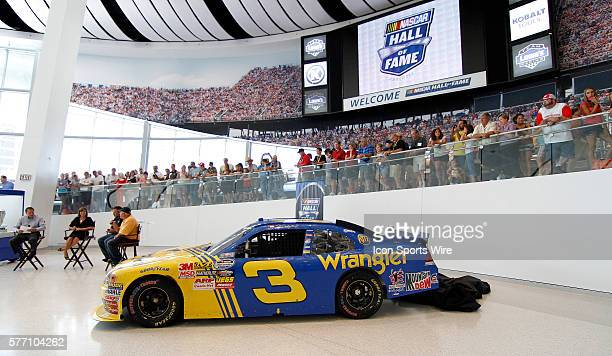 The NASCAR Hall of Fame an expansive new interactive entertainment attraction in Charlotte NC now is the temporary home of one of the most talked...