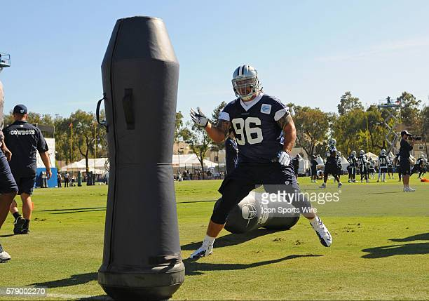 Cowboys Nick Hayden during the Dallas Cowboys Training Camp at the River Ridge Playing Fields in Oxnard CA