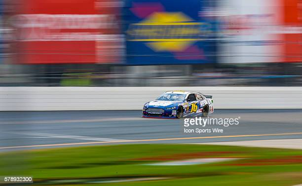 Greg Biffle races his NESN 30th Anniverary Fusion Ford during the Camping World RV Sales 301 at New Hampshire Motor Speedway in Loudon NH