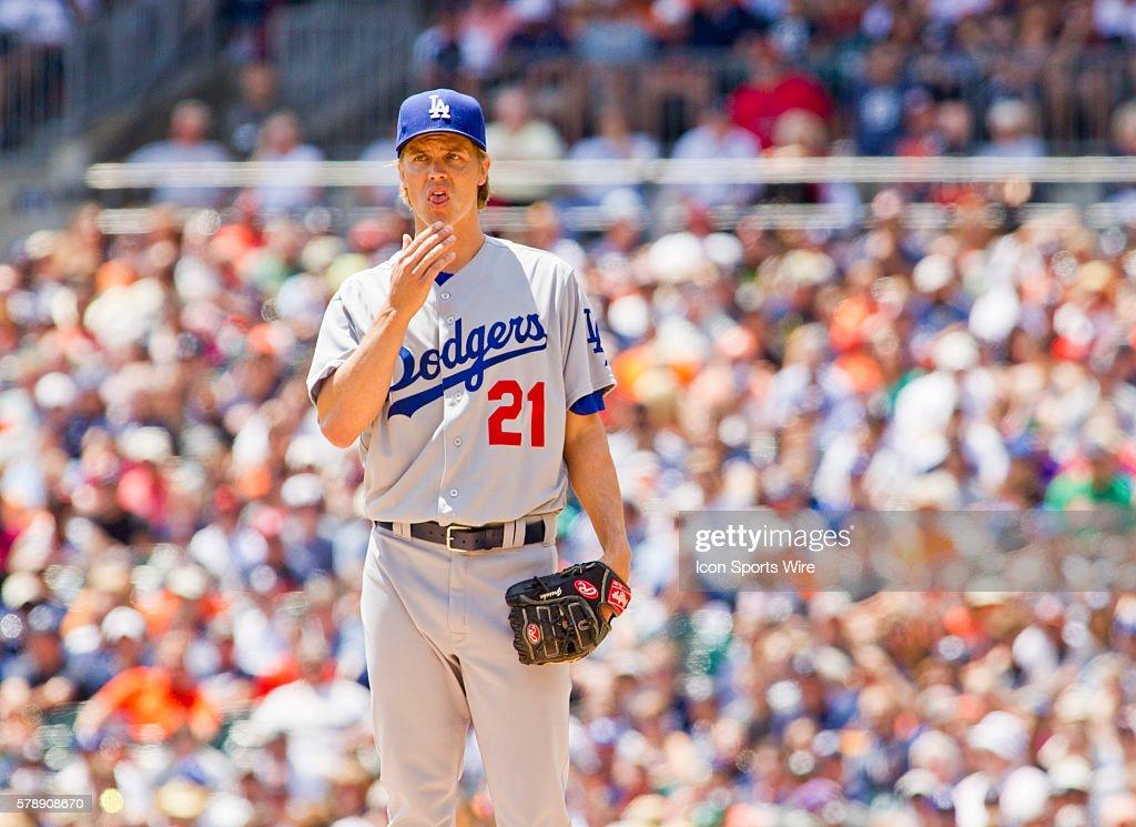 MLB: JUL 09 Dodgers at Tigers : News Photo