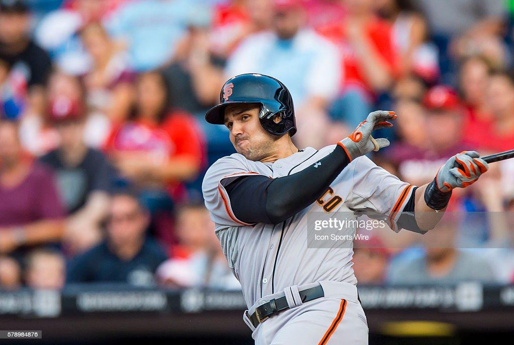 MLB: JUL 21 Giants at Phillies : ニュース写真