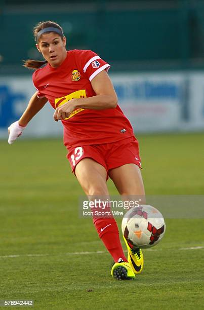 Western NY Flash defender Brittany Taylor during a soccer match between the Western NY Flash and FC Kansas City at Sahlen's Stadium in Rochester NY