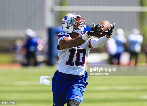 Buffalo Bills wide receiver Robert Woods during the Buffalo Bills Training Camp at St John Fisher College in Pittsford New York