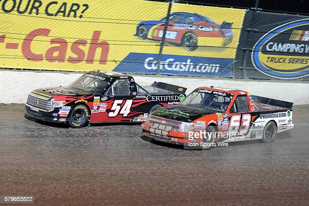 22 July 2015 | Christopher Bell Toyota Certified Used Vehicles Toyota Tundra and Bobby Pierce RPM Services Inc/Roofix Inc Chevrolet Silverado battle...