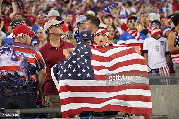 Fans of all ages enjoy the festivities The Men's National Team of the United States defeated the Men's National Team of Haiti 10 in a CONCACAF Gold...