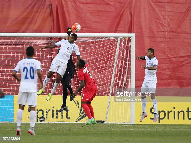 Honduras forward Antony Lozano makes a header attempt on friday The Men's National Team of Honduras and the Men's National Team of Panama drew 11 in...
