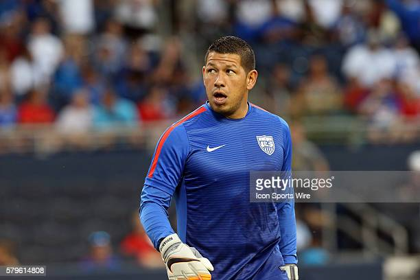 Nick Rimando The United States Men's National Team played the Panama Men's National Team at Sporting Park in Kansas City Kansas in a 2015 CONCACAF...