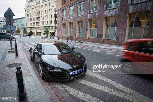 July 2016 A car with diplomatic plates is seen On Friday the Polish capital will be host to the 2016 NATO summit Over 4000 thousand hotel rooms in...