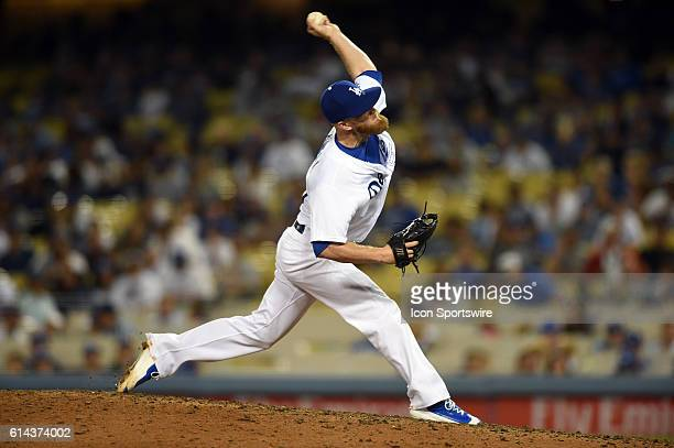 Los Angeles Dodgers Pitcher JP Howell [4933] during a Major League Baseball between the Colorado Rockies and the Los Angeles Dodgers at Dodger...