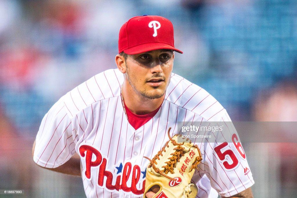 MLB: JUL 05 Braves at Phillies : News Photo