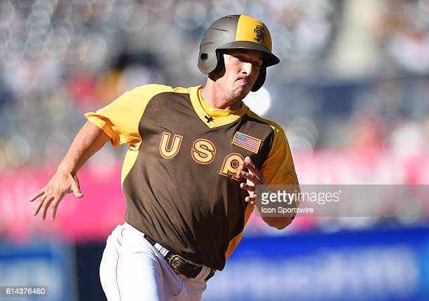 Team USA Alex Bregman during the MLB All-Star Futures Game at PETCO Park in San Diego, CA.