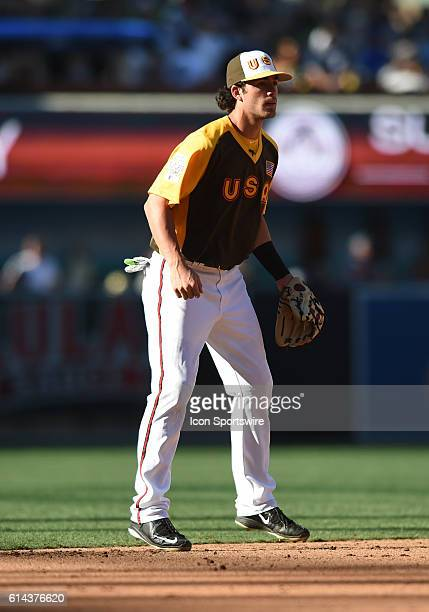 Team USA Dansby Swanson during the MLB AllStar Futures Game at PETCO Park in San Diego CA