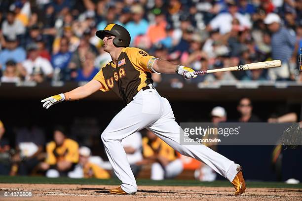 Team USA Hunter Renfroe during the MLB AllStar Futures Game at PETCO Park in San Diego CA