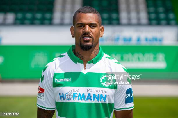 Photo session with SpVgg Greuther Fuerth season 2018/19 SpVgg Greuther Fuerth player Daniel KeitaRuel Photo Daniel Karmann/dpa IMPORTANT NOTICE Due...