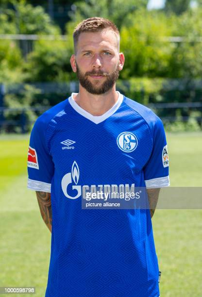 Bundesliga 2018/2019 season official photo shoot with FCSchalke 04 Schalke's Guido Burgstaller Photo Guido Kirchner/dpa