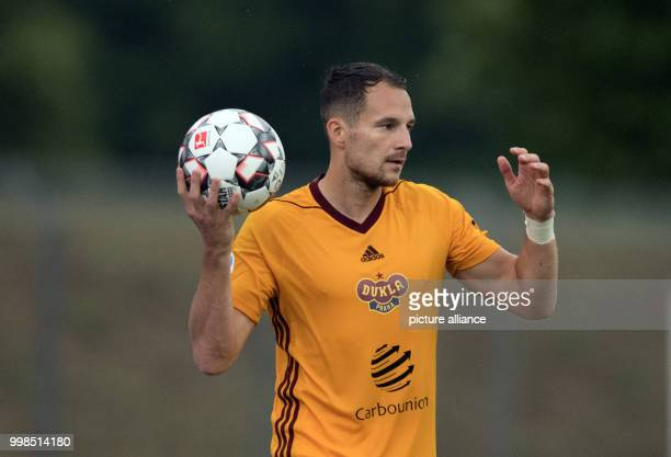 Test match Hertha BSC vs Dukla Prague Prague's Jakub Podany in action Photo Soeren Stache/dpa