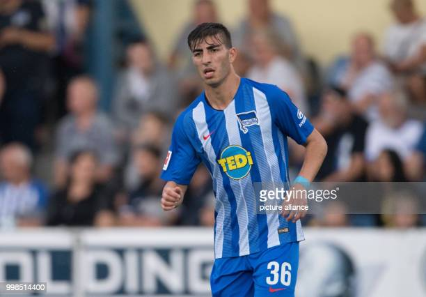 Test match Hertha BSC vs Dukla Prague Hertha's Muhammed Kiprit in action Photo Soeren Stache/dpa