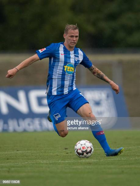 Test match Hertha BSC vs Dukla Prague Hertha's Ondrej Duda in action Photo Soeren Stache/dpa