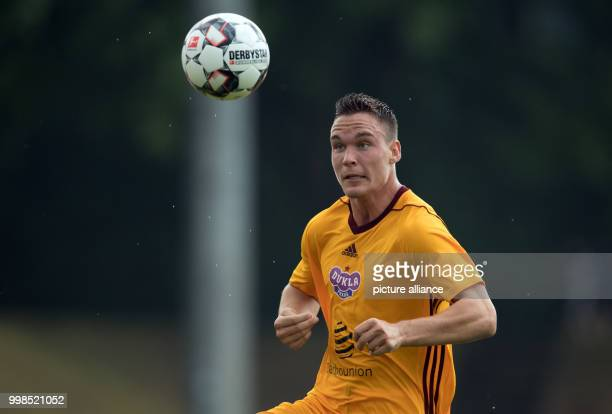 Test match Hertha BSC vs Dukla Prague Prague's David Bobal in action Photo Soeren Stache/dpa