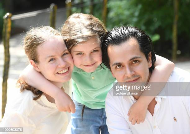 The 8 year old 'turbo pupil' Laurent Simons fromAmsterdam visiting the Europa park with his parents Alexander and Lydia Simons Laurent passed his...