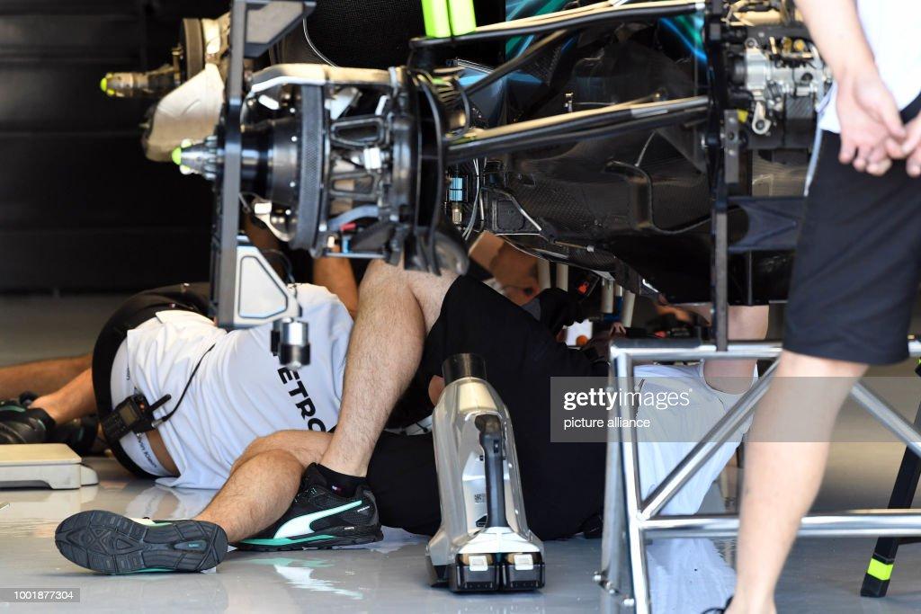 Formula 1- German Grand Prix : ニュース写真