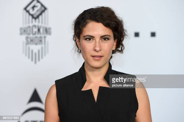 Amanda da Gloria actress arrives at the Shocking Short Awards at the Munich Filmfestival Photo Tobias Hase/dpa