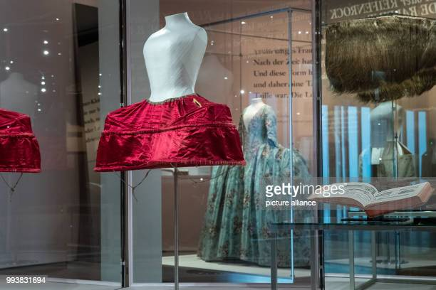 A silk crinoline from the 18th century can be seen at the special exhibition Luxury in silk at the Germanic National Museum With some 100 exhibition...
