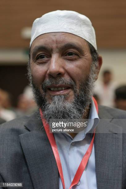 July 2019, Algeria, Algiers: Abdallah Djaballah, leader of the Islamist Movement for National Reform, attends the National Forum for Dialogue, an...