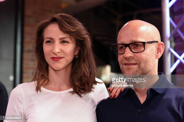 Before the world premiere of the film Stillstehen the actress Natalia Belitski and the actor Jürgen Vogel can be seen at the Filmfest München which...