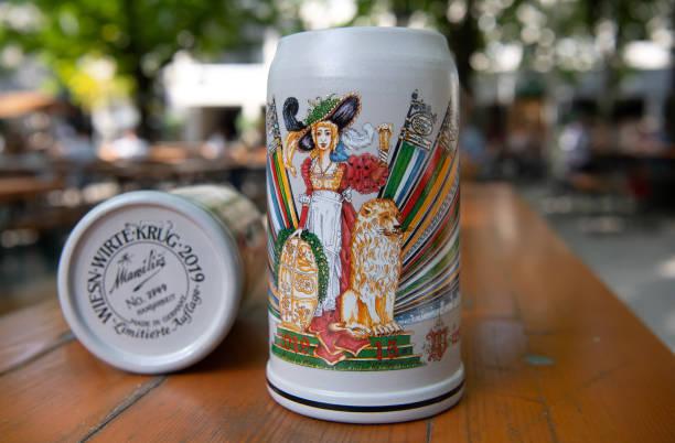 DEU: Presentation Of Oktoberfest Beer Mug