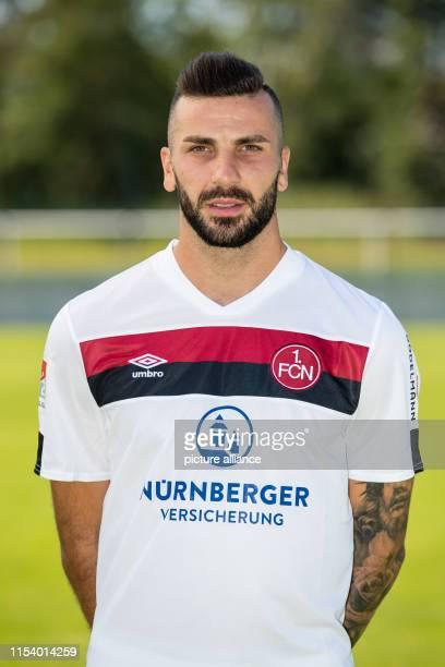 July 2019, Bavaria, Nuremberg: Soccer 2nd Bundesliga: 1st FC Nuremberg photo session for the 2019/20 season at the Valznerweiher training ground....