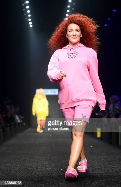 Anelia Janeva walks the catwalk at the show About You The collections for Spring/Summer 2020 will be presented at Berlin Fashion Week Photo Britta...