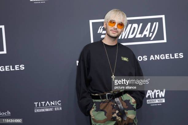 Bill Kaulitz at the fashion show MDLA by Bill Kaulitz as part of the About You Fashion Week at EWerk in Berlin Collections for Spring/Summer 2020...
