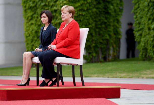 DEU: Moldovan Prime Minister Maia Sandu in Berlin