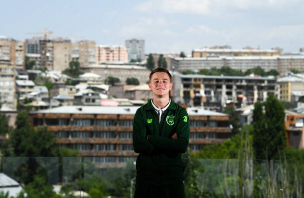 ARM: Republic of Ireland U19's Portraits & Training Session
