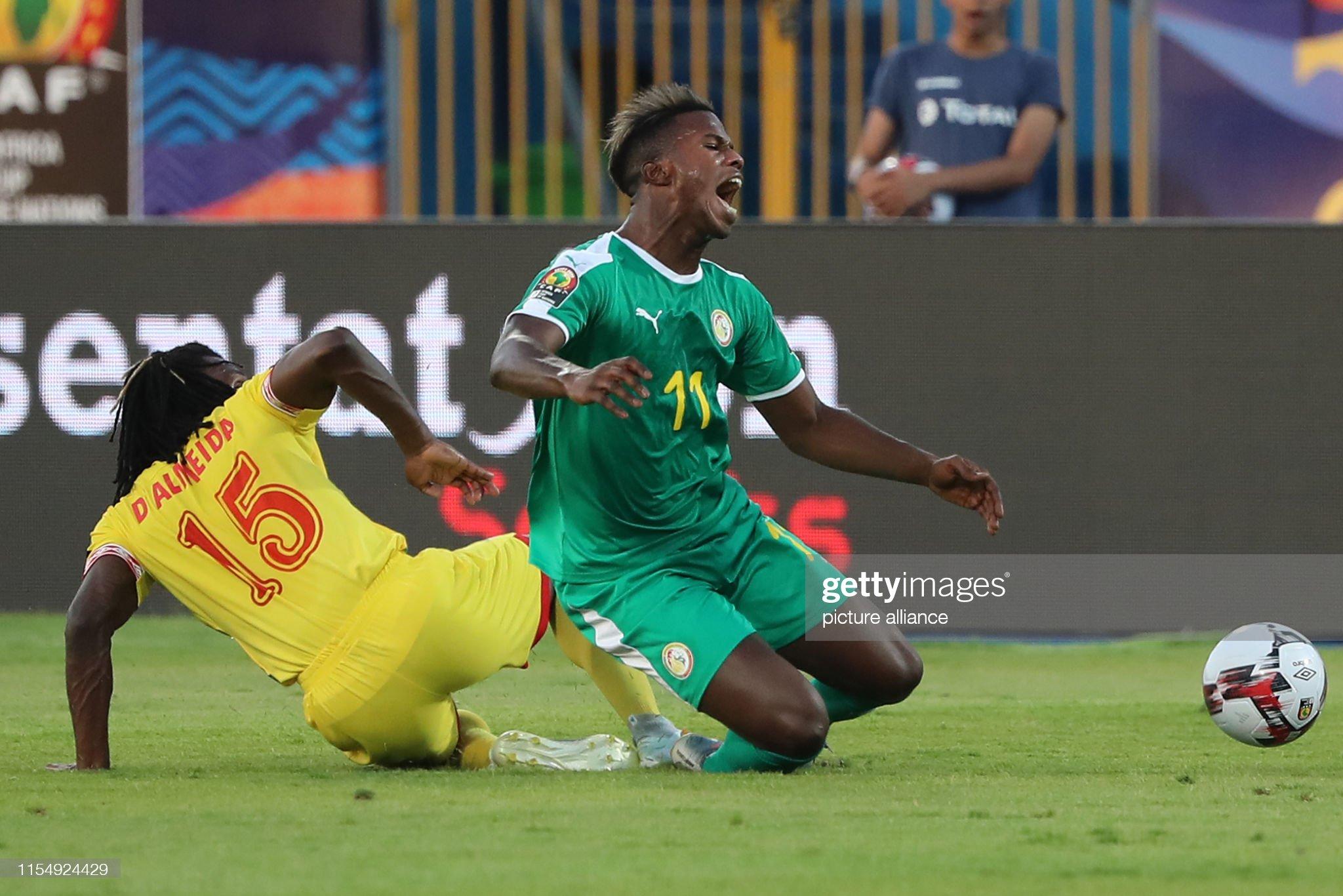 2019 Africa Cup of Nations - Senegla vs Benin : Photo d'actualité