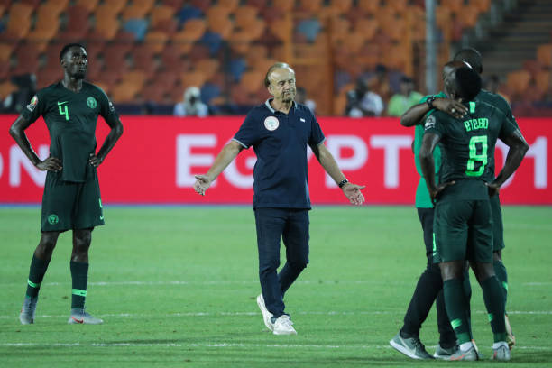 EGY: 2019 Africa Cup of Nations - Algeria Vs Nigeria