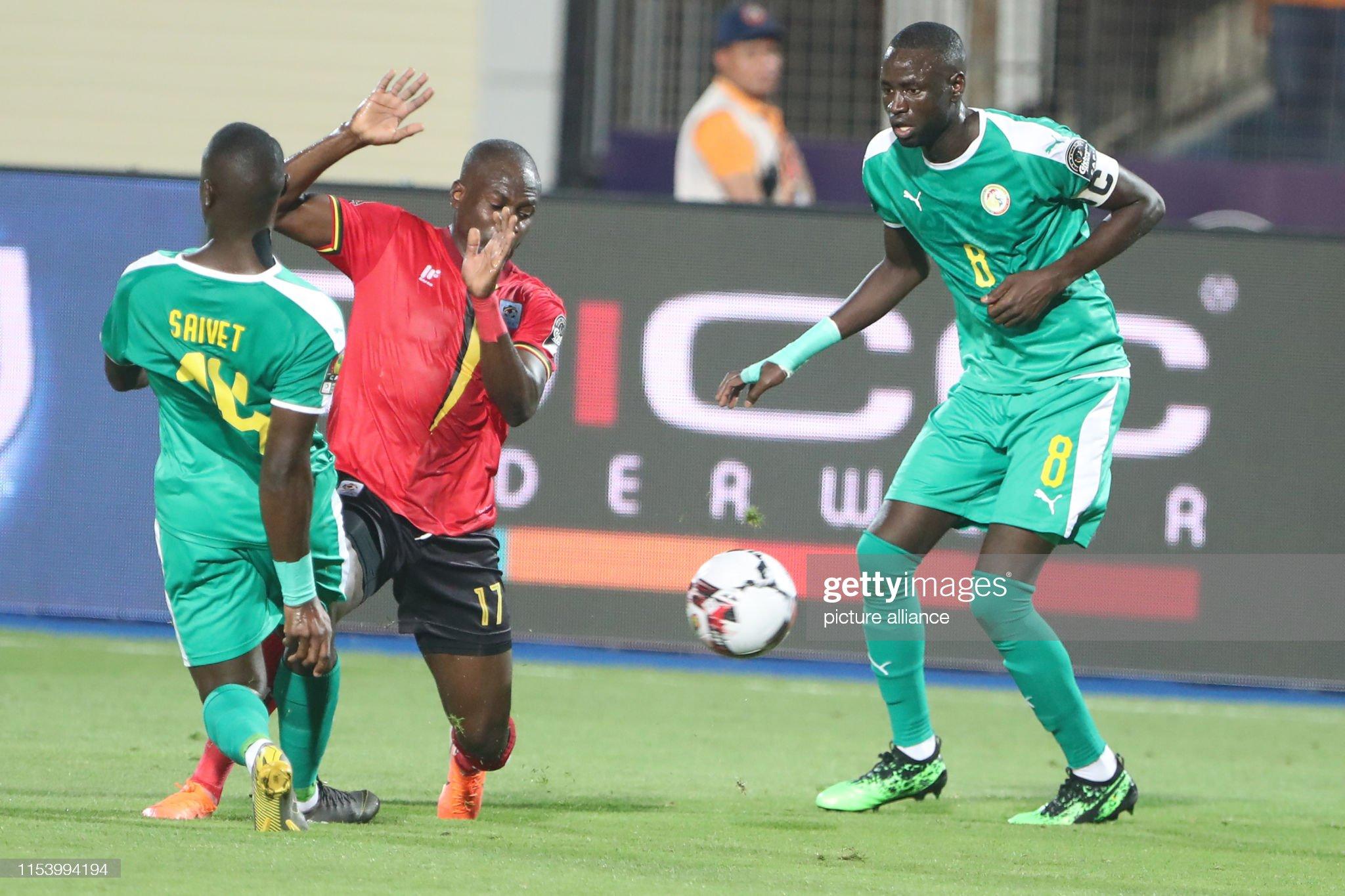 2019 Africa Cup of Nations - Uganda vs Senegal : Nyhetsfoto