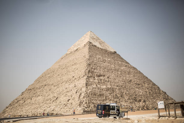 EGY: Tourism At Giza Pyramids