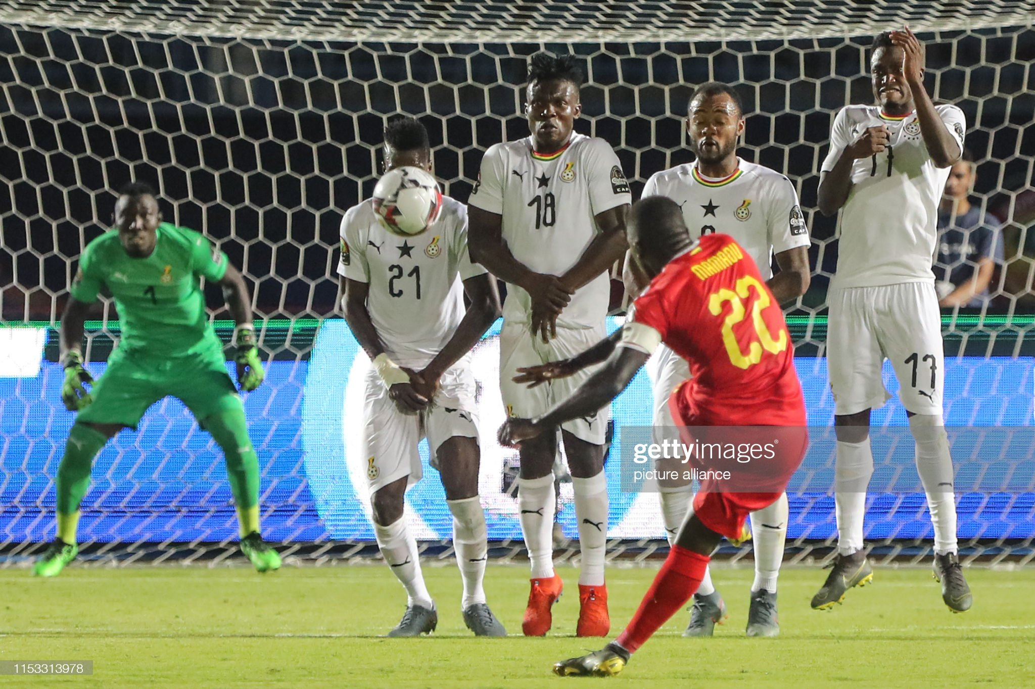 2019 Africa Cup of Nations Guinea-Bissau vs Ghana : News Photo