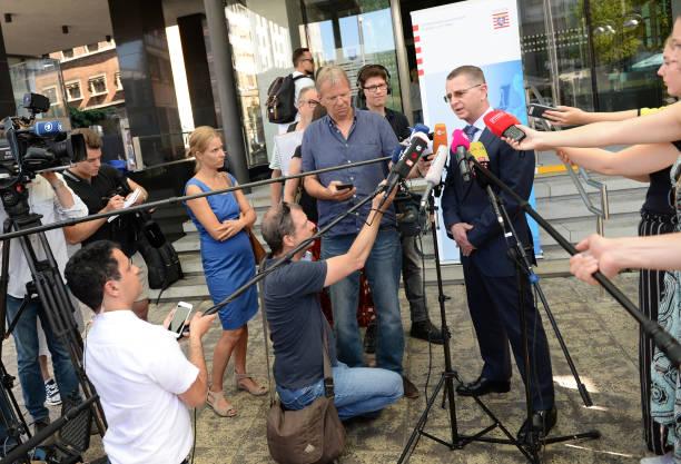 DEU: After Shots Near Frankfurt - Press Conference Public Prosecutor
