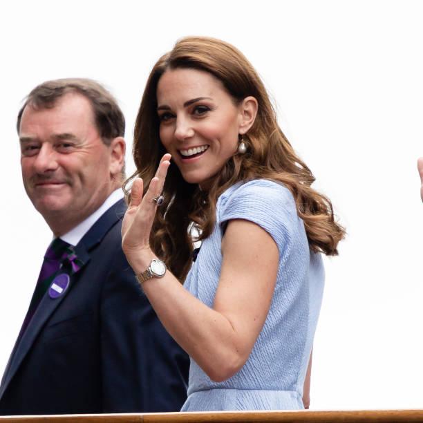 GBR: Wimbledon 2019 Royals