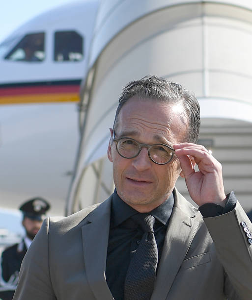 ITA: German Foreign Minister Heiko Maas Travels To Italy