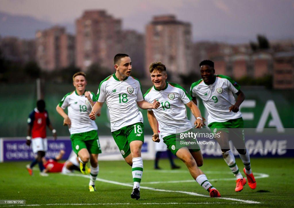 Norway v Republic of Ireland - 2019 UEFA European U19 Championships Group B : News Photo