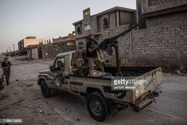 Fighters of Libya's UNbacked Government of National Accord of Fayez Serraj clash with forces of the selfstyled Libyan National Army led by Libyan...