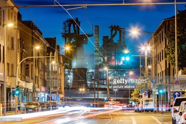 01 July 2019 North RhineWestphalia Duisburg Blast furnaces 9 and 8 from ThyssenKrupp Photo Marcel Kusch/dpa